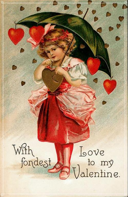 Скачать лучистую открытку на день святого Валентина, девушке! Переслать в viber!