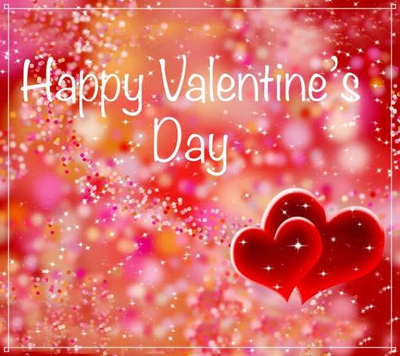 Скачать бесплатно праздничную открытку (поздравление любимой девушке) с днём святого Валентина! Для вк, ватсап, одноклассники!