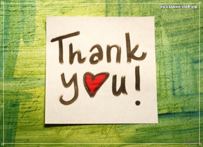 Скачать бесплатно трепетную открытку (поздравление) с днём спасибо! Для инстаграм!
