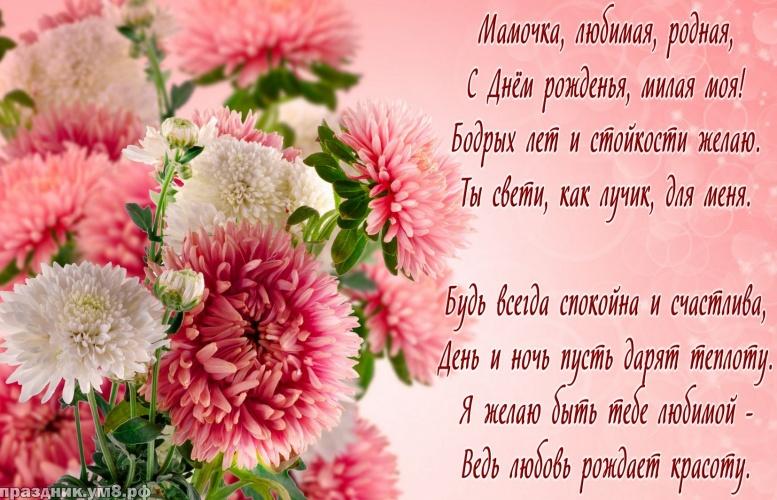 Скачать исключительную открытку на день рождения для мамы, для мамули! Поделиться в whatsApp!