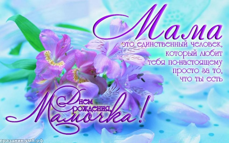Скачать бесплатно нужную картинку (поздравление) с днём рождения мамочке, мамуле, маме! Для инстаграма!