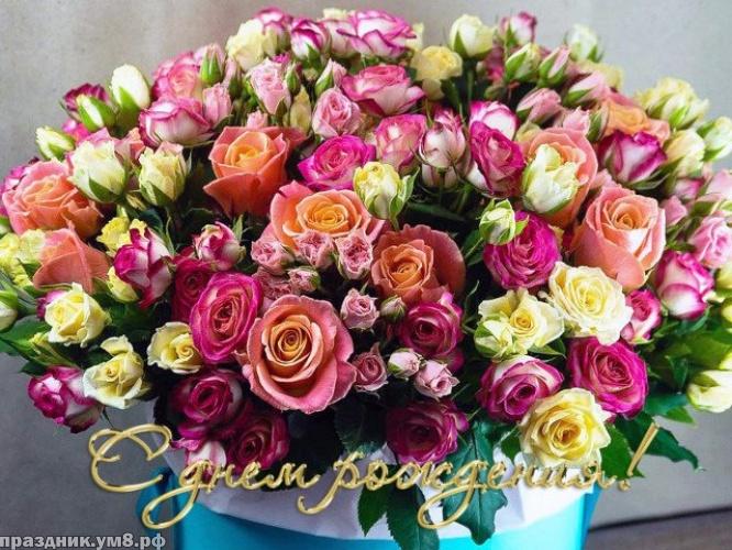 Найти актуальную открытку с днём рождения женщине (цветы)! Поделиться в facebook!