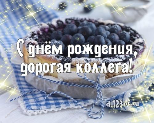 Найти креативную открытку с днем рождения коллеге (стихи и пожелания d.123ot.ru)! Отправить в телеграм!