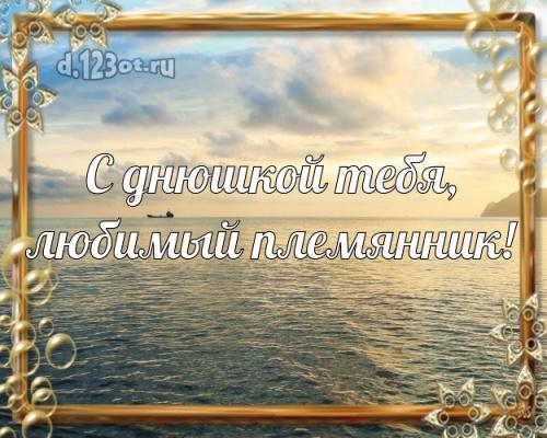 Скачать бесплатно исключительную открытку на день рождения для супер-племяннику! С сайта d.123ot.ru! Поделиться в вацап!