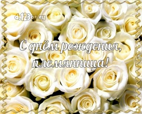 Скачать онлайн роскошную картинку на день рождения лучшей племяннице в мире (поздравление d.123ot.ru)! Отправить по сети!