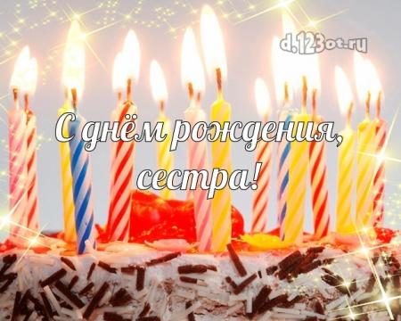 Найти трепетную открытку с днём рождения, милая сестра! Поздравление с сайта d.123ot.ru! Поделиться в facebook!