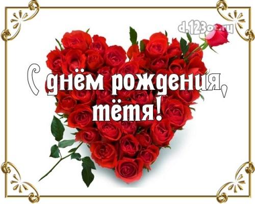 С днём рождения тёте с сайта d.123ot.ru