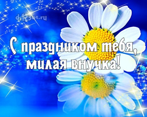 Скачать бесплатно трогательную картинку с днём рождения внучке, внученьке (с сайта d.123ot.ru)! Отправить в instagram!