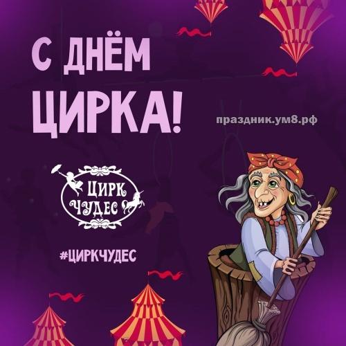 Скачать бесплатно желанную картинку на день цирка для подруги (или для друга)! Красивые открытки для всех! Поделиться в facebook!