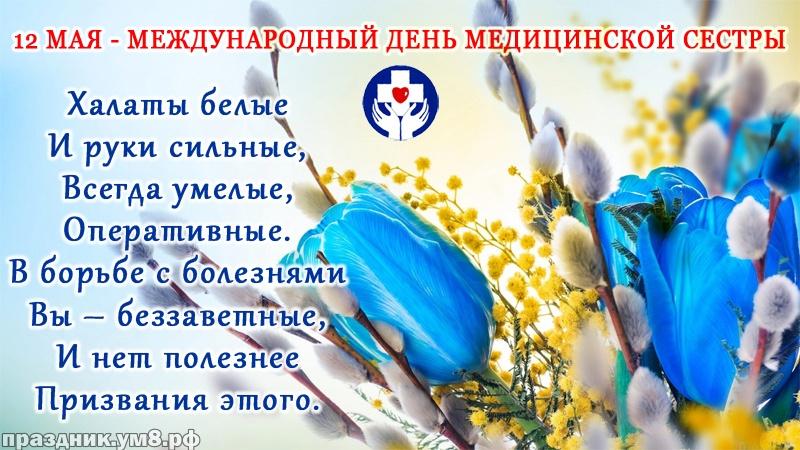 Скачать бесплатно тактичную открытку на день медсестры (поздравление в прозе)! Сестричкам! Переслать в instagram!