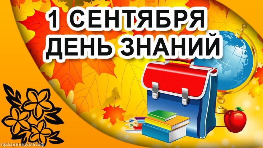 Скачать бесплатно обаятельную открытку с днем знаний, с 1 сентября! Красивые пожелания для всех! Переслать в telegram!