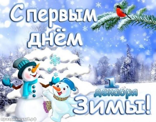 Найти модную картинку с первым днём зимы, 1 декабря, красивое поздравление в прозе! Поделиться в facebook!