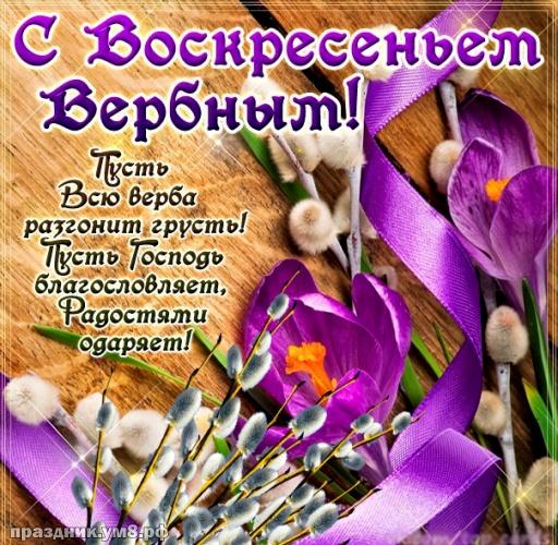 Скачать бесплатно сердечную открытку с вербным воскресеньем! Примите поздравления, дорогие! Отправить в телеграм!