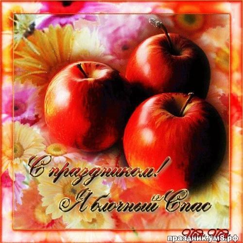 Скачать бесплатно ненаглядную картинку с яблочным спасом, дорогие друзья! Поделиться в вк, одноклассники, вацап!